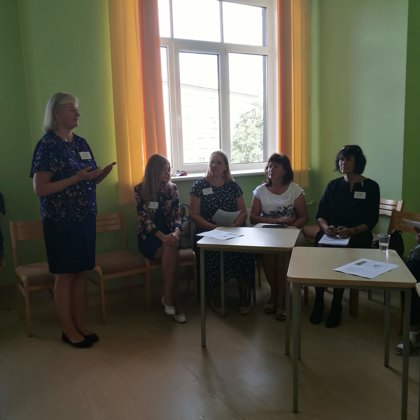 Cross border experience exchange workshop in Jelgava